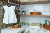 Antes e depois: lavanderia renovada
