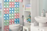 Banheiro prático e cheio de borogodó