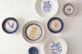 Aprenda a pintar pratos de porcelana