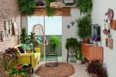sala de estar e varanda com inspiracao urban jungle (2)
