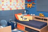jogo de cores quarto de menino com cores primárias